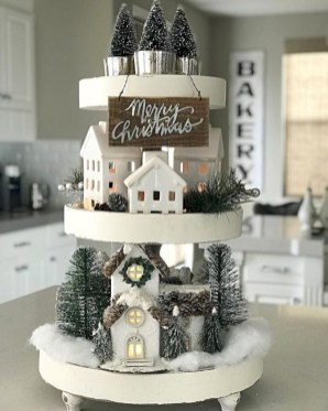 Cute farmhouse christmas decoration ideas 36