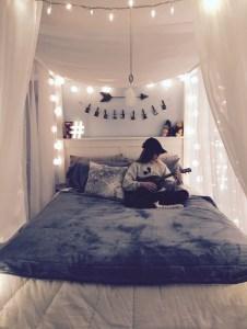 Easy and cute teen room decor ideas for girl 05