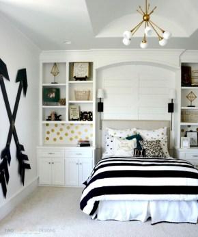 Easy and cute teen room decor ideas for girl 48