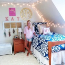 Elegant dorm room decorating ideas 21
