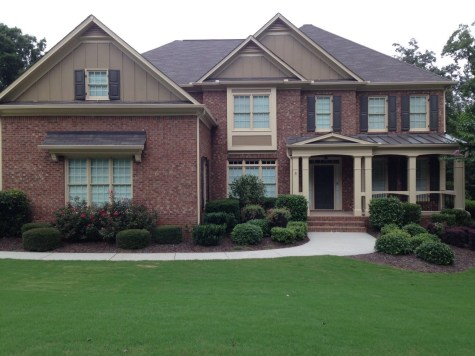 Exterior paint colors for house with brown roof 06