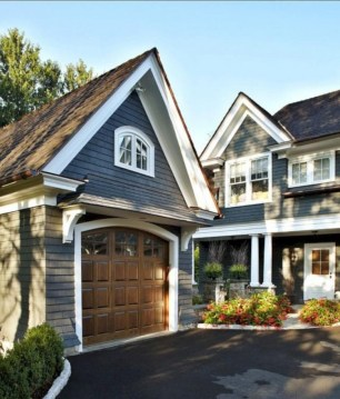 Exterior paint colors for house with brown roof 12