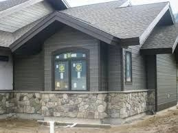 Exterior paint colors for house with brown roof 48