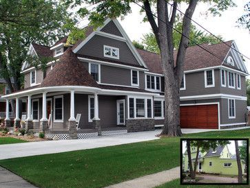 Exterior paint colors for house with brown roof 51