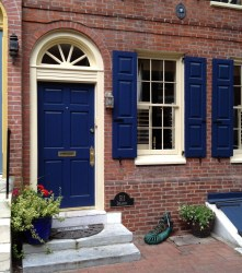 Exterior paint colors with red brick 15
