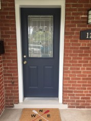 Exterior paint colors with red brick 17