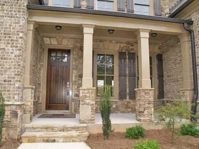 Exterior paint colors with red brick 28
