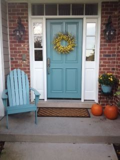 Exterior paint colors with red brick 40