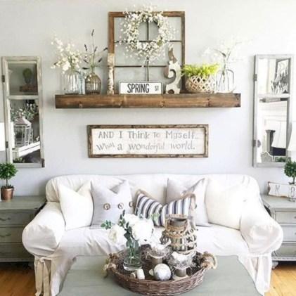 Incredible european farmhouse living room design ideas 06