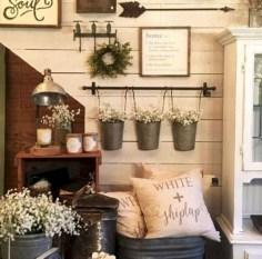 Incredible european farmhouse living room design ideas 09