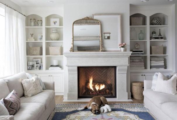 Incredible european farmhouse living room design ideas 24