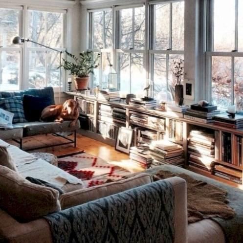 Incredible european farmhouse living room design ideas 53