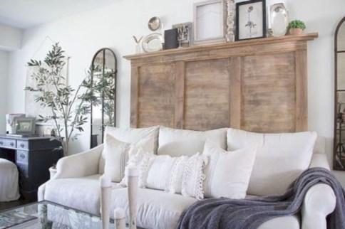 Incredible european farmhouse living room design ideas 54