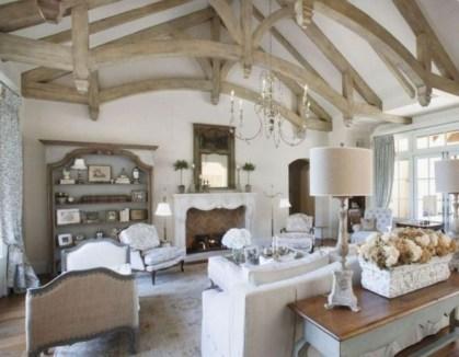 Incredible european farmhouse living room design ideas 68