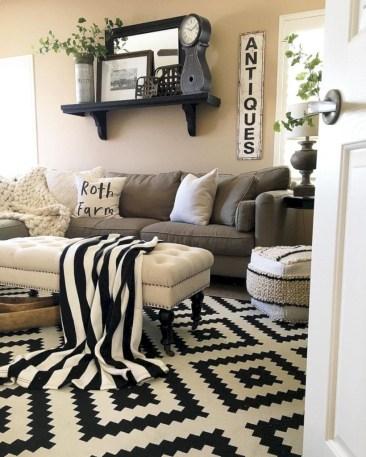 Incredible european farmhouse living room design ideas 72