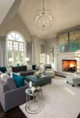 Incredible european farmhouse living room design ideas 77