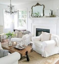Incredible european farmhouse living room design ideas 90