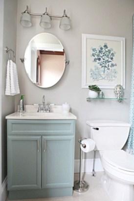 Incredible half bathroom decor ideas 117
