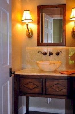 Incredible half bathroom decor ideas 15
