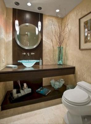 Incredible half bathroom decor ideas 17