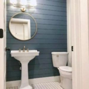 Incredible half bathroom decor ideas 22