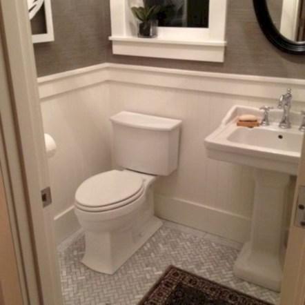 Incredible half bathroom decor ideas 24