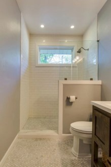 Incredible half bathroom decor ideas 36