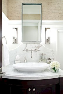 Incredible half bathroom decor ideas 44