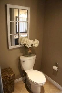 Incredible half bathroom decor ideas 46