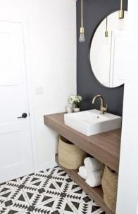 Incredible half bathroom decor ideas 47
