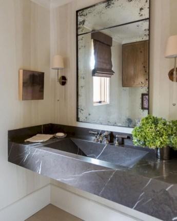 Incredible half bathroom decor ideas 52