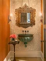 Incredible half bathroom decor ideas 78