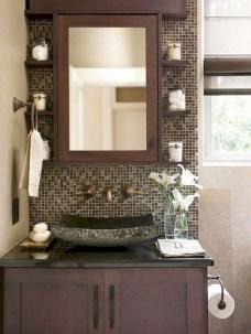 Incredible half bathroom decor ideas 80