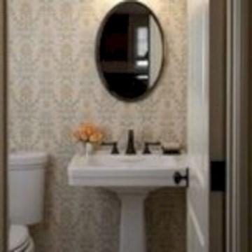 Incredible half bathroom decor ideas 95