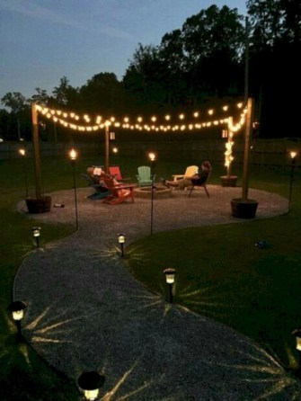 Inspiring backyard lighting ideas for summer 45