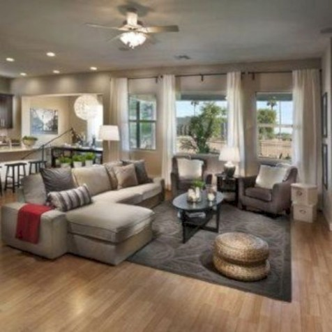 Inspiring living room layouts ideas with sectional 128