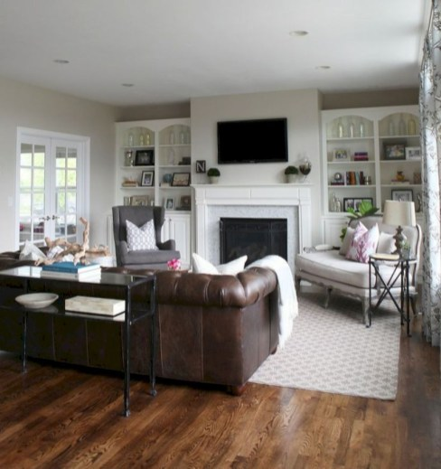 Inspiring living room layouts ideas with sectional 129