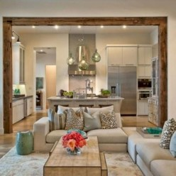 Inspiring living room layouts ideas with sectional 21