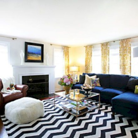 Inspiring living room layouts ideas with sectional 46