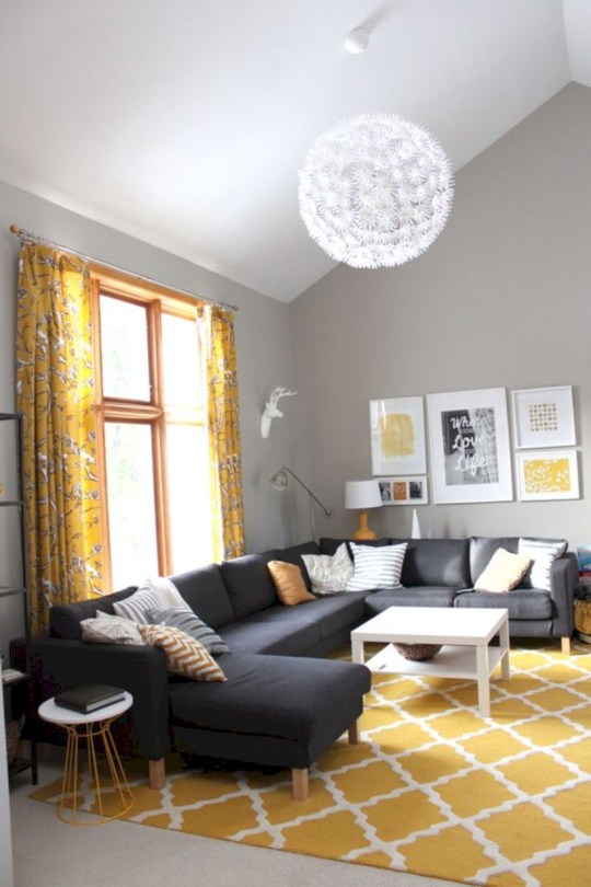 Inspiring living room layouts ideas with sectional 49