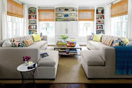 Inspiring living room layouts ideas with sectional 67