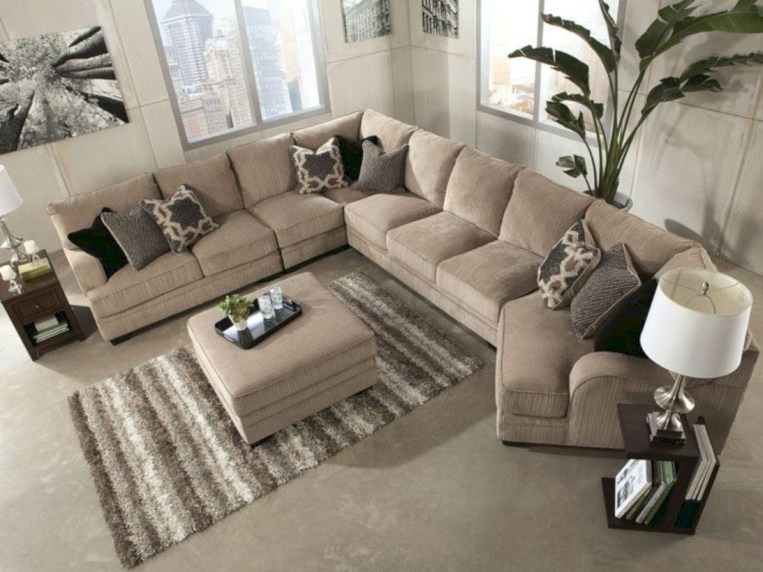 Inspiring living room layouts ideas with sectional 83