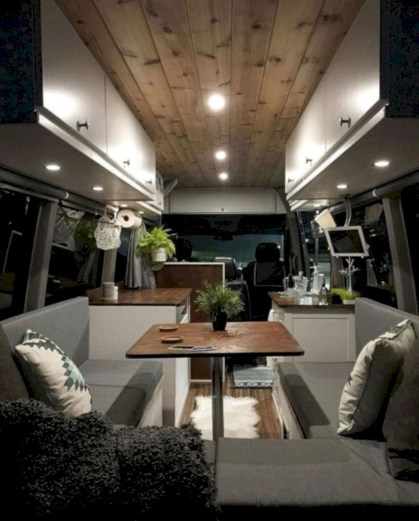 Rv living decor to make road trip so awesome 07