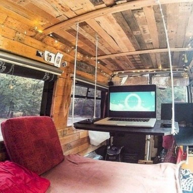 Rv living decor to make road trip so awesome 27
