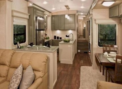 Rv living decor to make road trip so awesome 38