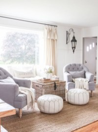 Rustic farmhouse living room decor ideas 20