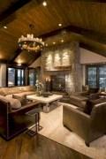 Rustic farmhouse living room decor ideas 23