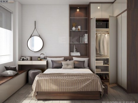 Small master bedroom decor ideas 37
