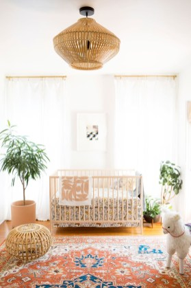 Unique baby boy nursery room with animal design 06