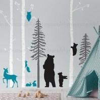 Unique baby boy nursery room with animal design 13